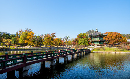 gung: Emperor palace at Seoul. South Korea.