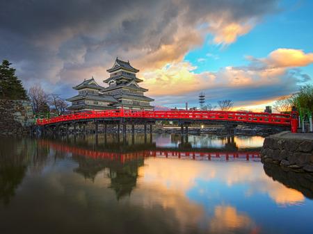 ninja ancient: Matsumoto castle in Matsumoto Nagano, Japan