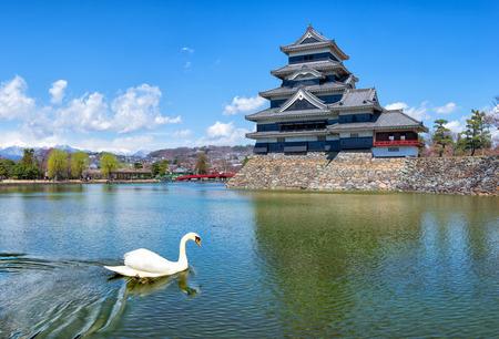 matsumoto: Matsumoto castle in Matsumoto Nagano, Japan