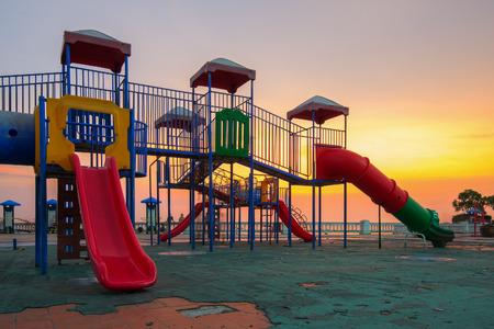 on playground: Playground Stock Photo
