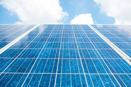 electric cell: solar cell Stock Photo