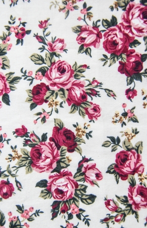 Rose bouquet design Seamless pattern on fabric as  background Stock Photo - 18807251