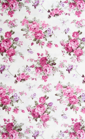 Rose bouquet design Seamless pattern on fabric as  background
