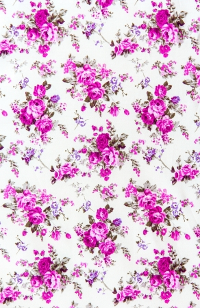 Rose bouquet design Seamless pattern on fabric as background Stock Photo - 21432605