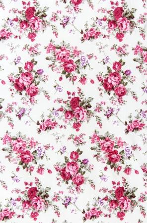 薔薇の花束デザイン シームレス柄ファブリックの背景として 写真素材 - 21432606
