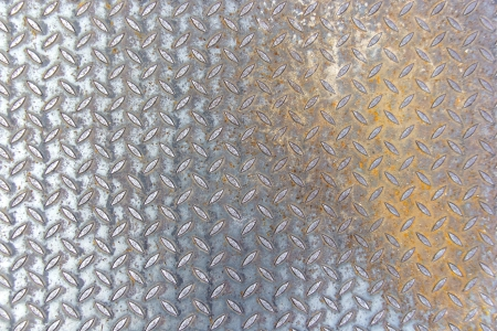 Metal rhombus shaped and texture photo