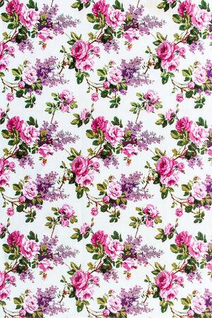 stylishness: Rose bouquet Seamless pattern as background
