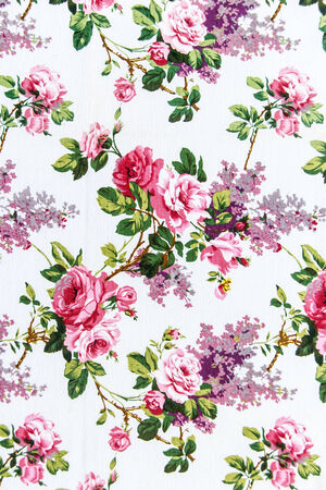 Rose bouquet Seamless pattern as background photo