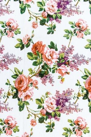 バラの花束シームレスなパターンの背景として