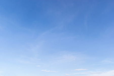 clear blue sky: Fantastic soft white clouds in blue sky