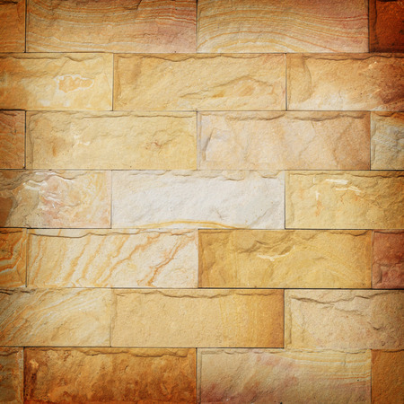 sand stone wall texture and ackground of decorate Stock Photo - 29065231