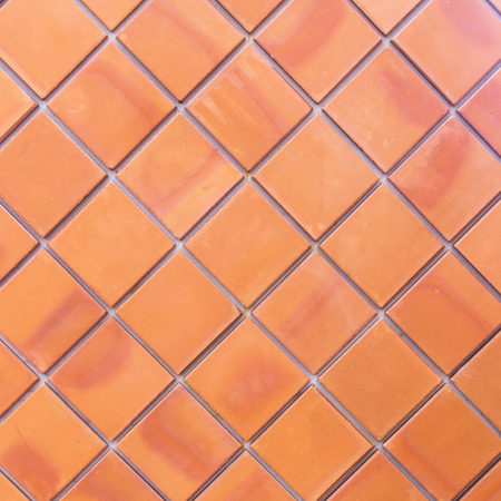 ���wall tiles���: Brown wall tiles as a background or texture