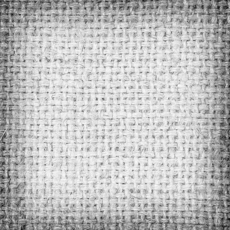 sackcloth gray textured background. Stock Photo