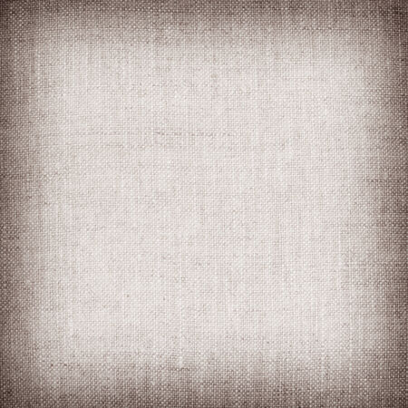 fibra: brown natural linen texture for the background. Stock Photo