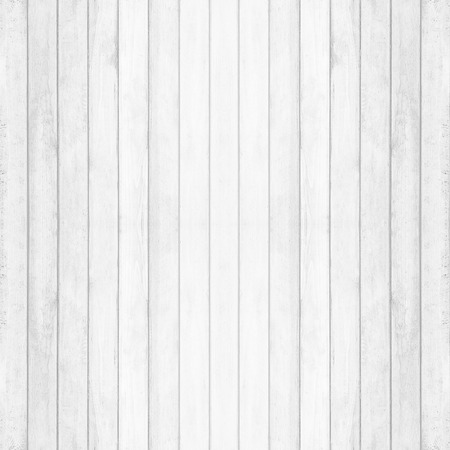 Wooden wall texture background, gray-white vintage color 免版税图像