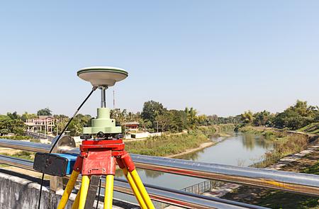 GPS 測量、全地球測位システム。