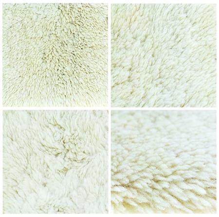 sheepskin: colecci�n de piel de oveja de fondo, set 4.