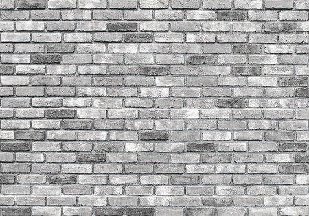 Background of old vintage brick wall, gray colour.