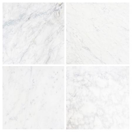 コレクション白大理石のテクスチャ背景 (高解像度)。 写真素材
