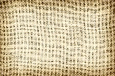 Natural sackcloth textured for background. Standard-Bild