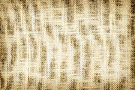 burlap sack: Natural sackcloth textured for background. Stock Photo