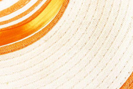 latticework: Woven straw background or texture Stock Photo
