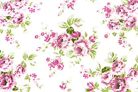 abstract wallpaper: pink rose vintage on fabric background, Soft focus.