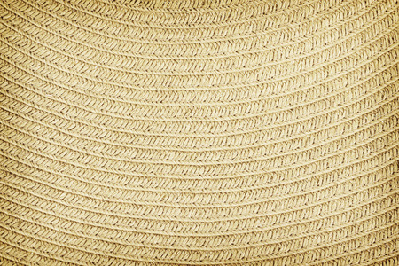 Woven straw background or texture. Stock Photo