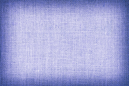 sackcloth: Natural  sackcloth textured for background, blue colour.