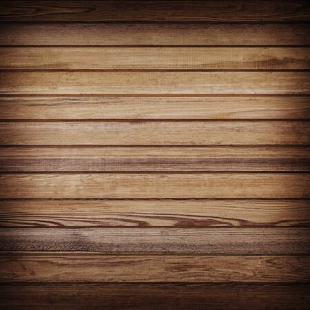horizental: Wood plank brown texture for background.