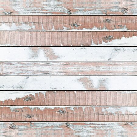 Wooden wall texture background, painted blue. Stock Photo