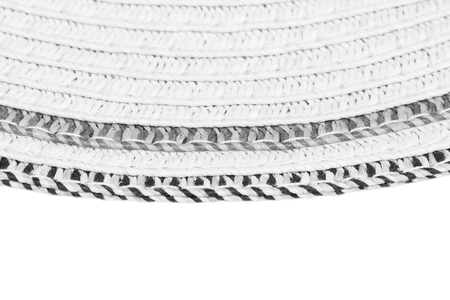 latticework: Woven straw background or texture and space for text. Gray color.