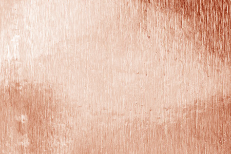 Shiny foil texture for background and shadow. Rose gold color or red brown. Foto de archivo