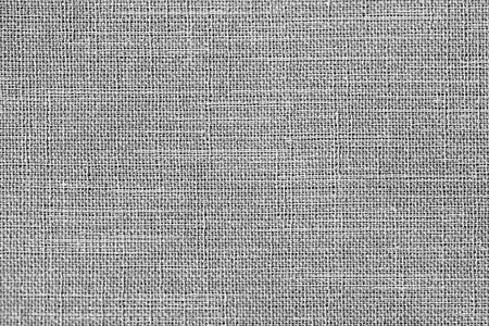 Linen fabric texture or background, Gray color Reklamní fotografie