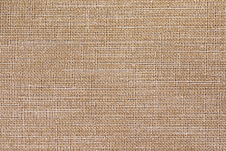 Linen fabric texture or background, Brown color