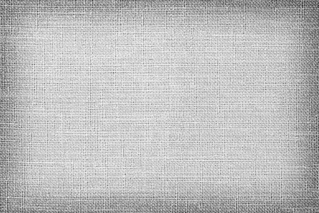 Gray linen fabric texture or background