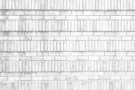 White brick wall as a background or texture. Reklamní fotografie