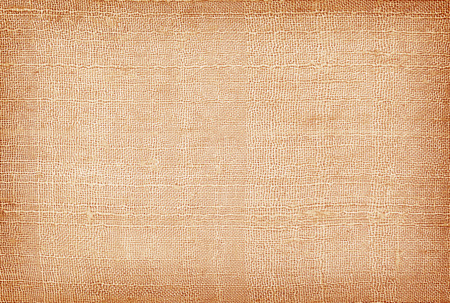 Textura de tela vieja de lino marrón o fondo