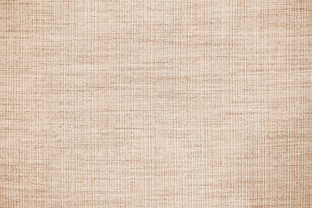 Brown linen fabric texture or background