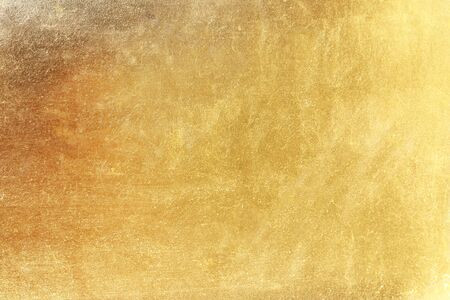 Gold abstract background or texture and gradients shadow. Reklamní fotografie - 127105965