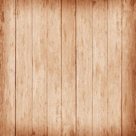 Brown wood wall plank texture or background Reklamní fotografie