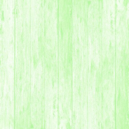 Green wood wall plank texture or background.
