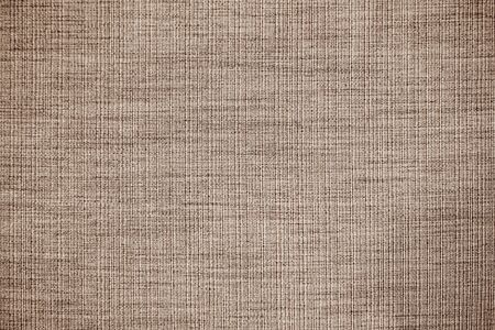 Brown linen fabric texture or background Reklamní fotografie - 127106387