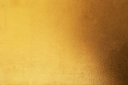 Gold abstract background or texture and gradients shadow. Reklamní fotografie - 127110890