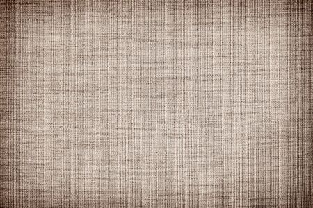 Brown linen fabric texture or background and shadow Reklamní fotografie - 127110898