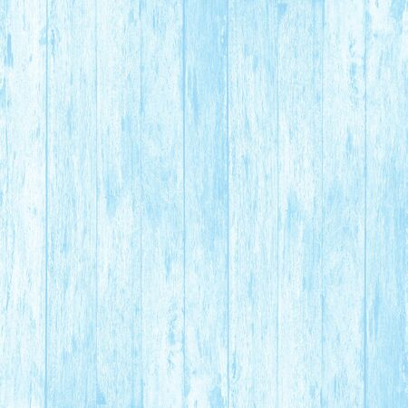 Blue wood wall plank texture or background.