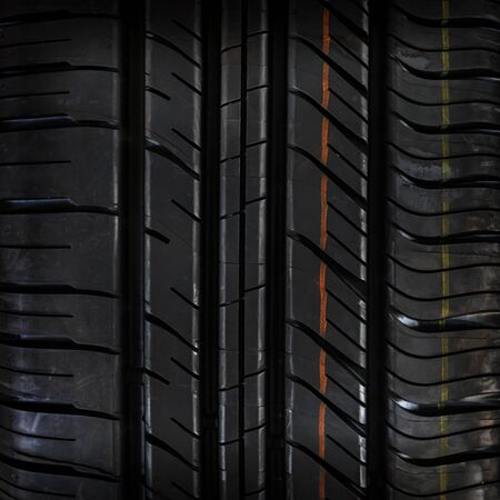 Car tire texture or background and gradients shadow, copy space 版權商用圖片