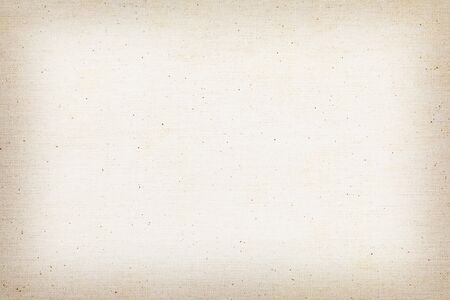 Brown old linen fabric texture or background and copy space