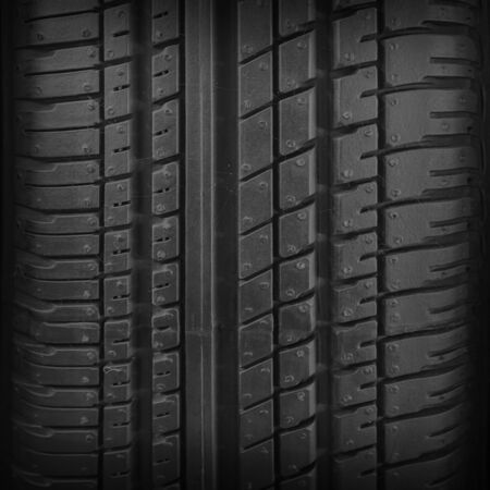 Car tire texture or background and gradients shadow, copy space 写真素材