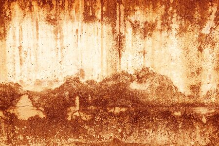 Blood texture or background. Concrete wall with bloody red stains for halloween. 写真素材